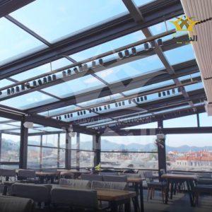 Automatic Roof Pergola